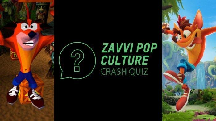 The Zavvi Pop Culture Quiz #48: Crash Bandicoot Edition