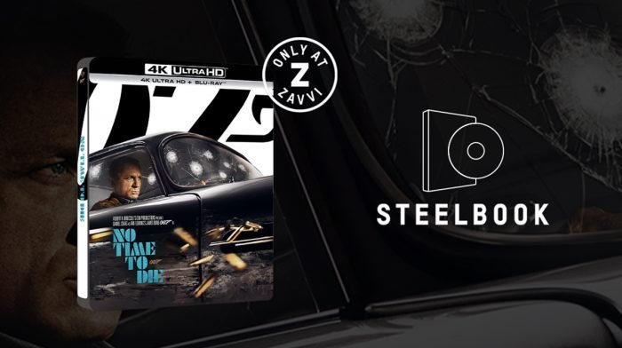 Introducing Zavvi's Exclusive No Time To Die 4K Steelbook