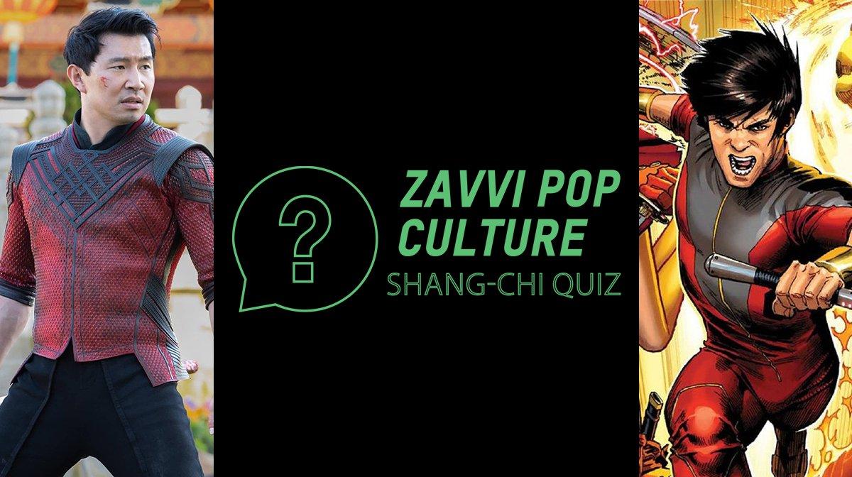 The Zavvi Pop Culture Quiz #47: Shang-Chi Edition