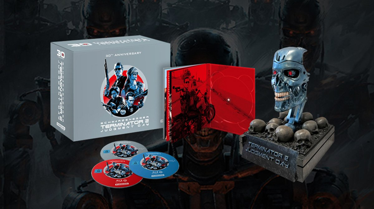 Our Exclusive Terminator 2: Judgment Day 30th Anniversary Collection Is Here