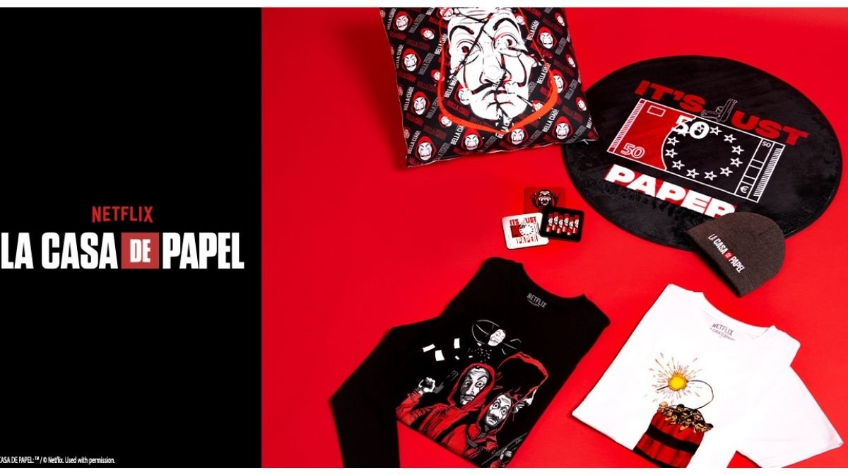Our Exclusive Money Heist Collection Has Arrived