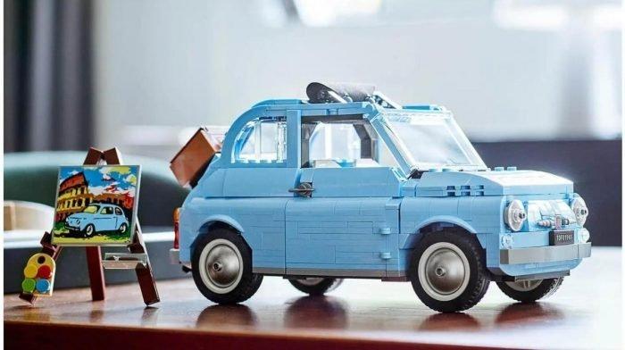 The LEGO Creator Expert Fiat 500 Has Arrived At Zavvi