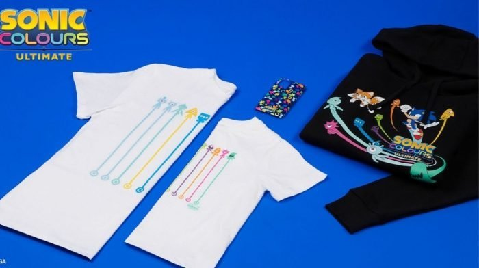 Introducing Our Exclusive Sonic Colours Collection