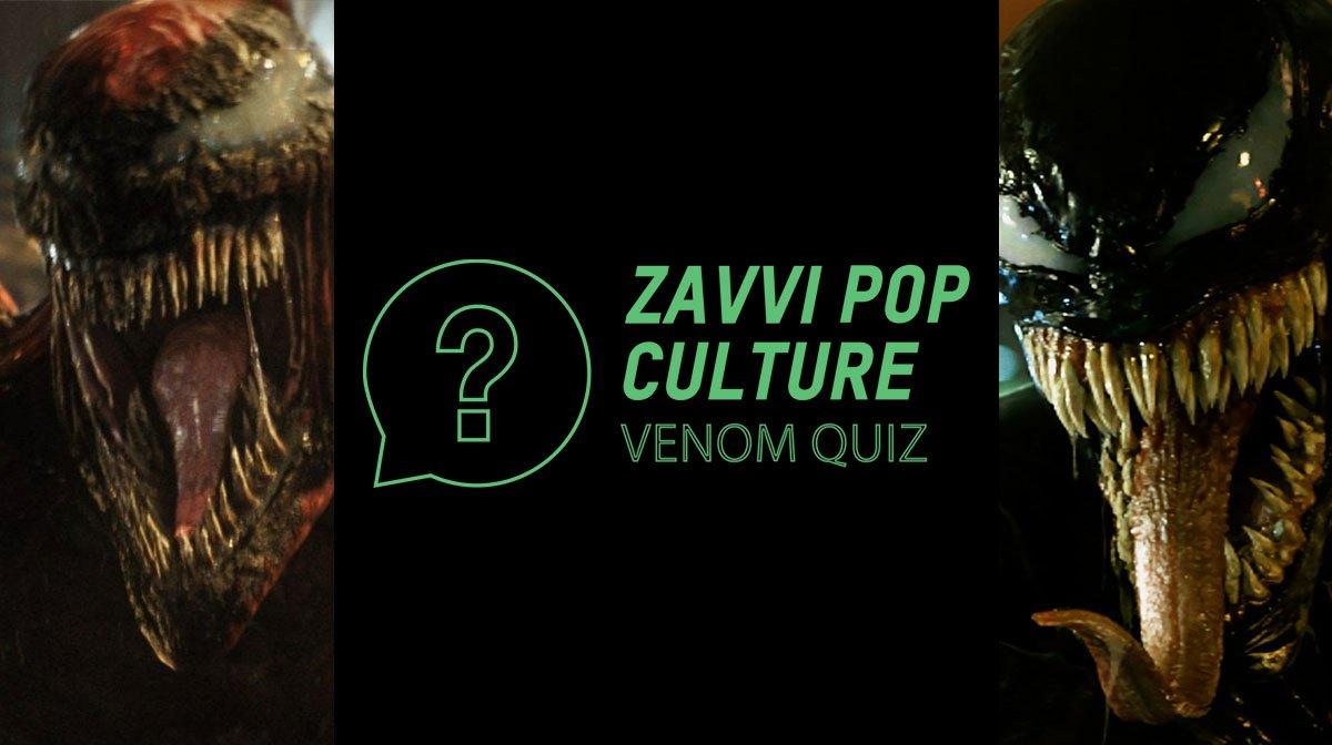 The Zavvi Pop Culture Quiz #53: Venom Edition