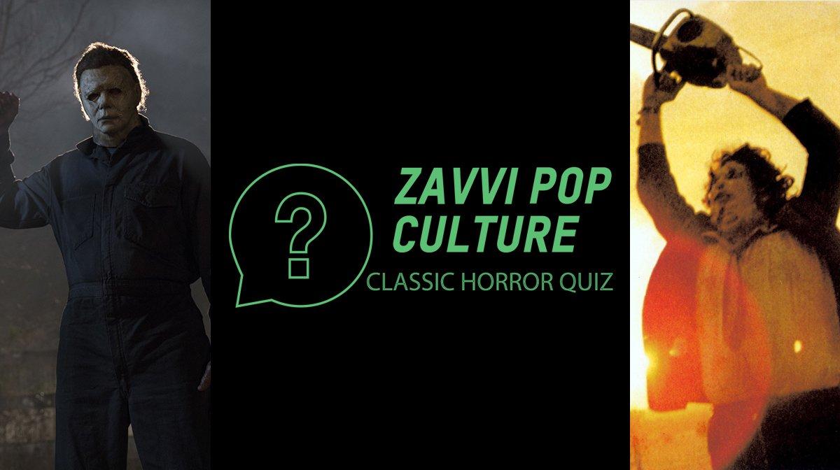 The Zavvi Pop Culture Quiz #54: Classic Horror Edition