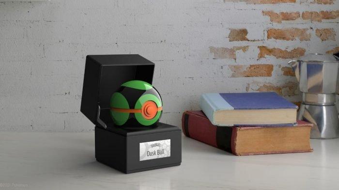 Introducing The Pokémon Die-Cast Dusk Ball Replica