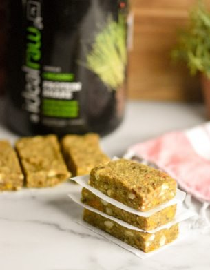 Pineapple Mango Protein Bars