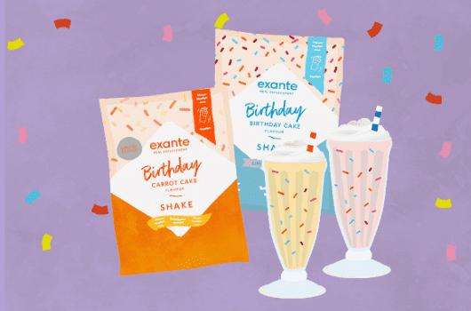 I festeggiamenti per il compleanno continuano... Vi presentiamo due nuovi frullati!