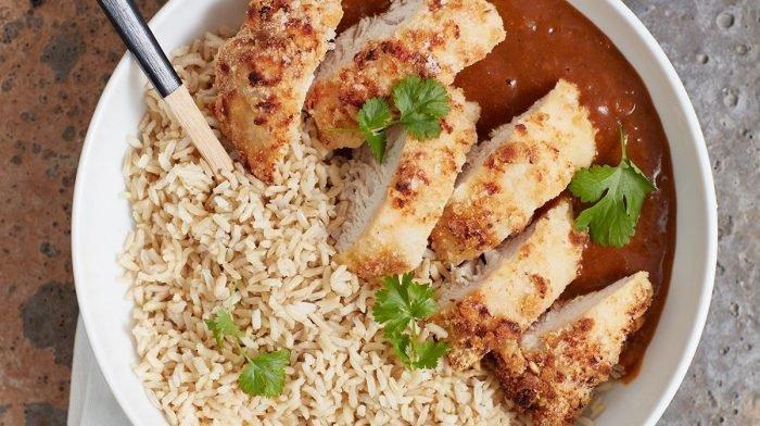 Receta de Curry Katsu de pavo