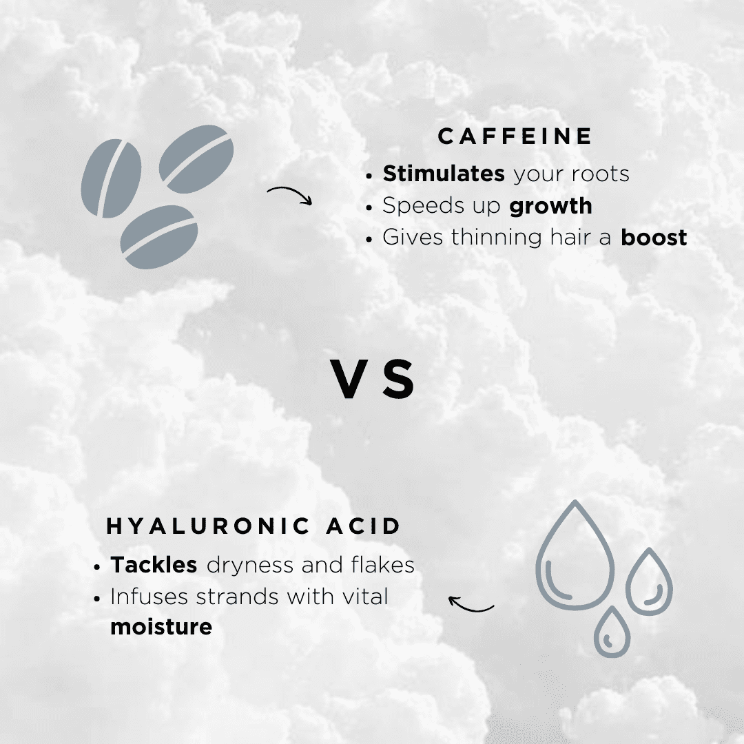 best ingredients for hair caffeine vs hyaluronic acid list of benefits of haircare ingredients
