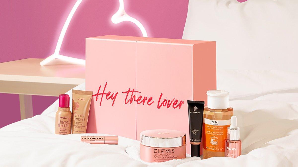 Vi presentiamo la Beauty Box di LOOKFANTASTIC per San Valentino 2021