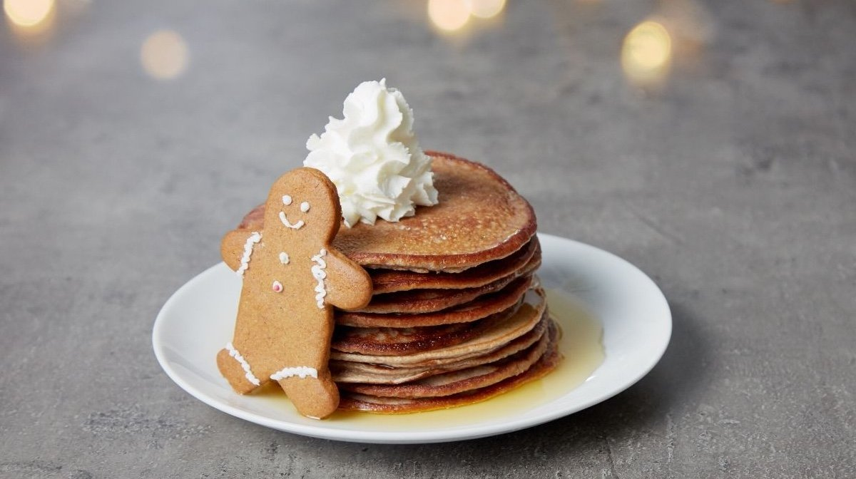 Gingerbread protein pandekager