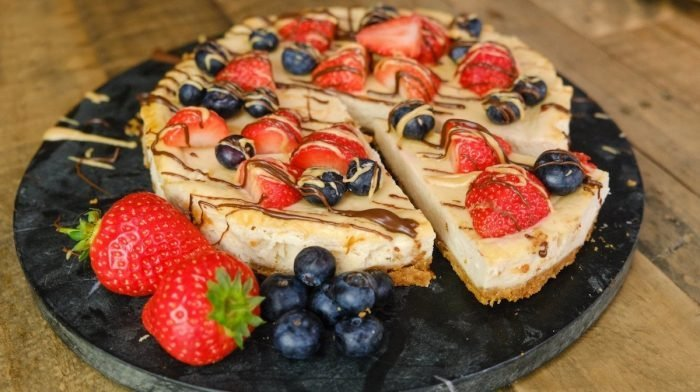Protein Peanut Butter Cheesecake