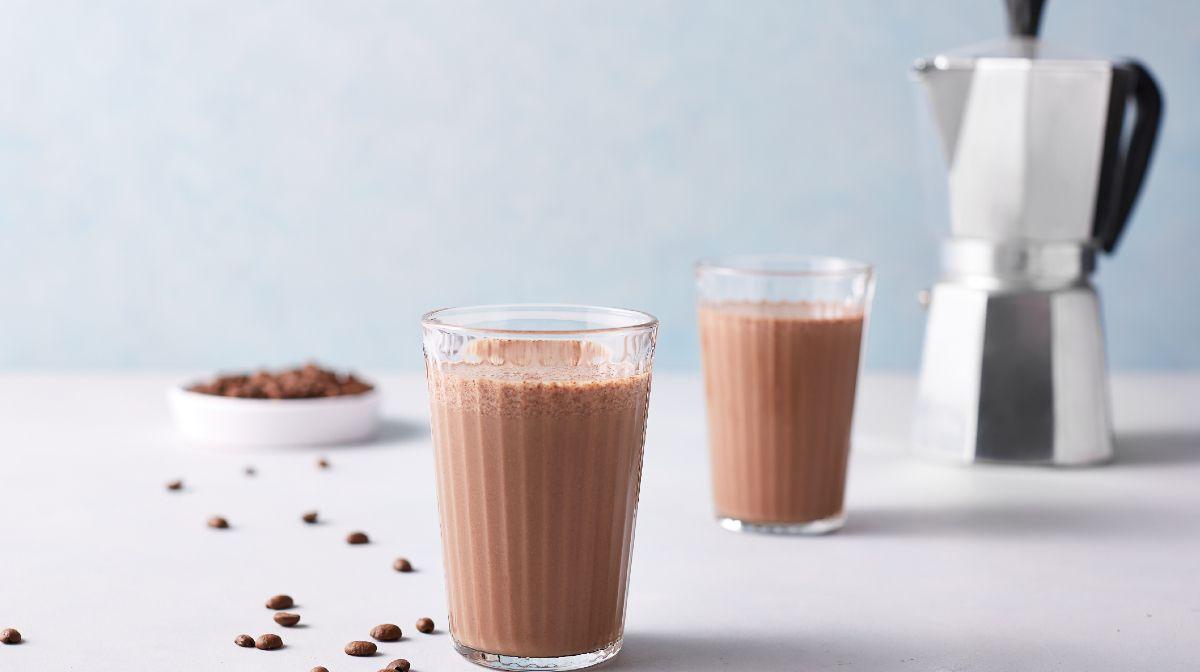 Kaffe chokolade protein smoothie | Vægttabs opskrift