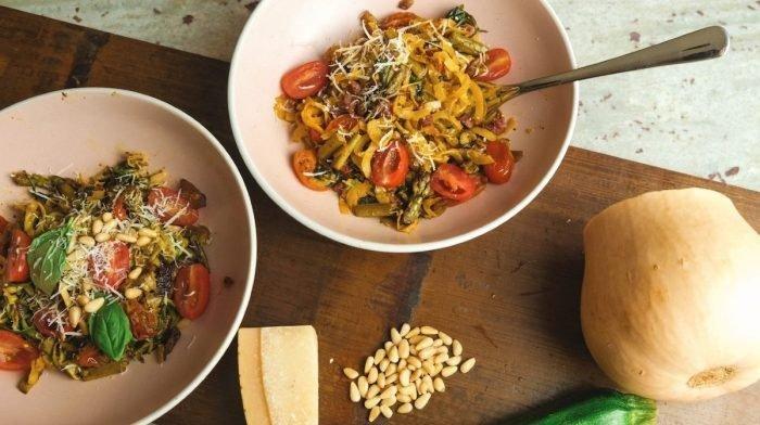 Grøntsagsspaghetti opskrifter   Sundt alternativ til pasta