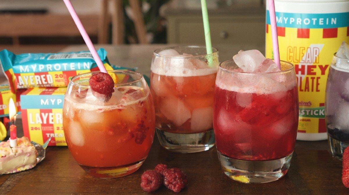 Protein mocktails til fødselsdag & fest | Alkoholfri drinks