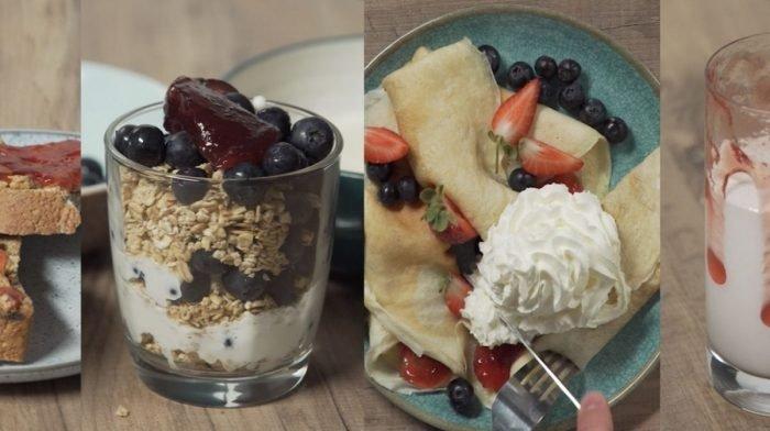4 рецепта с фруктовым джемом без сахара