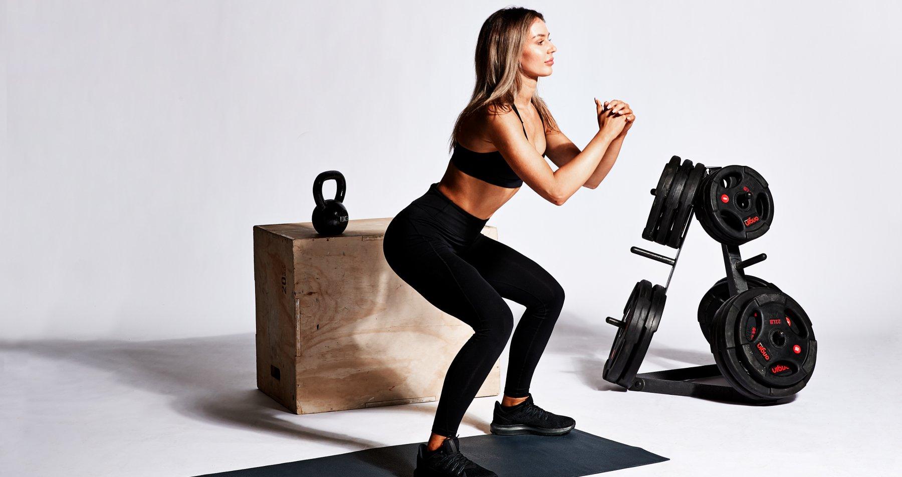 Тренировка нижней части тела I 6 упражнений