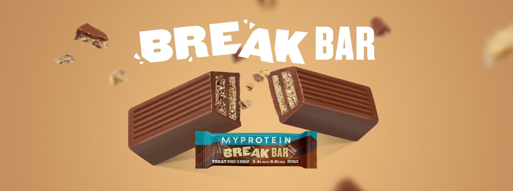 Новинка Break Bar I Лучшая закуска для перекуса