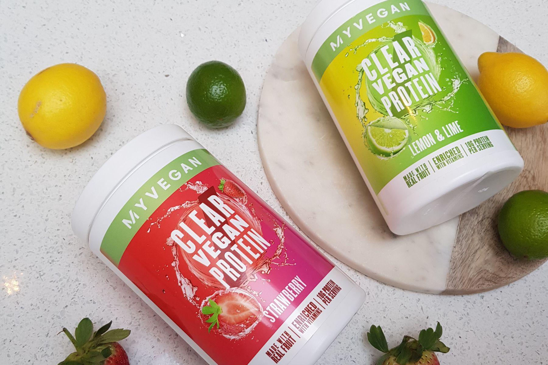 Новинка Clear Vegan Protein I Растительный протеин со вкусом фруктов