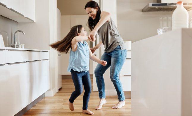 Фитнес для всей семьи дома I 7 идей