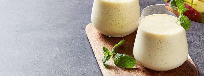 Протеиновый ласси с манго | Рецепты со всего мира