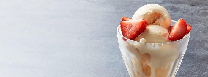 Протеиновое мороженое со вкусом крем-брюле | Рецепты со всего мира