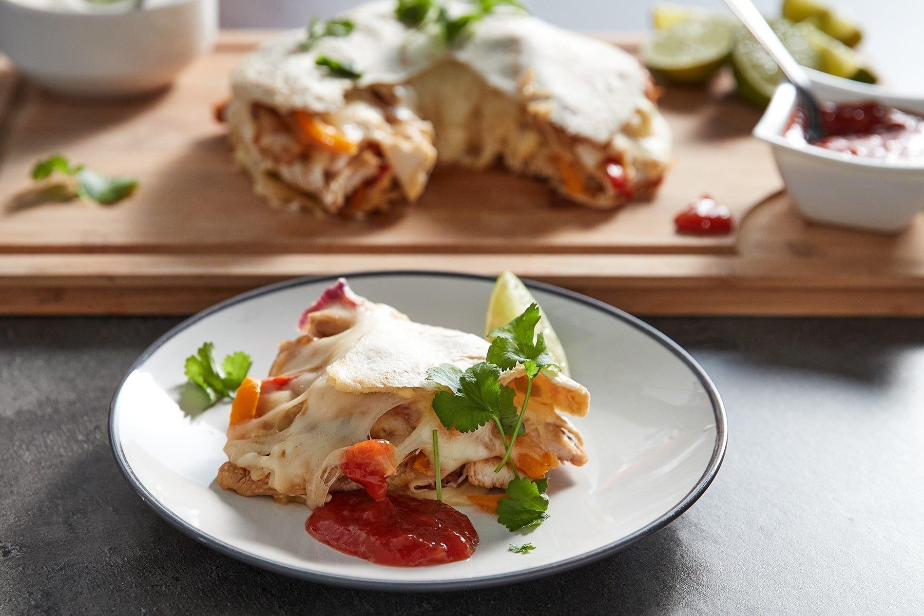 Пирог фахитас I Вкуснейшее мексиканское блюдо