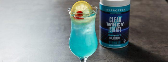 Изолят Clear Whey со вкусом синей малины | 2 рецепта