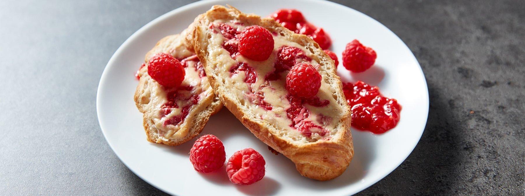 Круассаны с малиной| Протеиновый завтрак