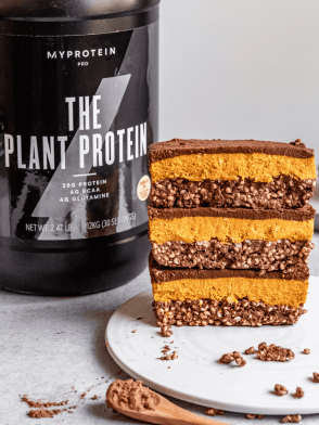 Triple Layer Chocolate Pumpkin Bars