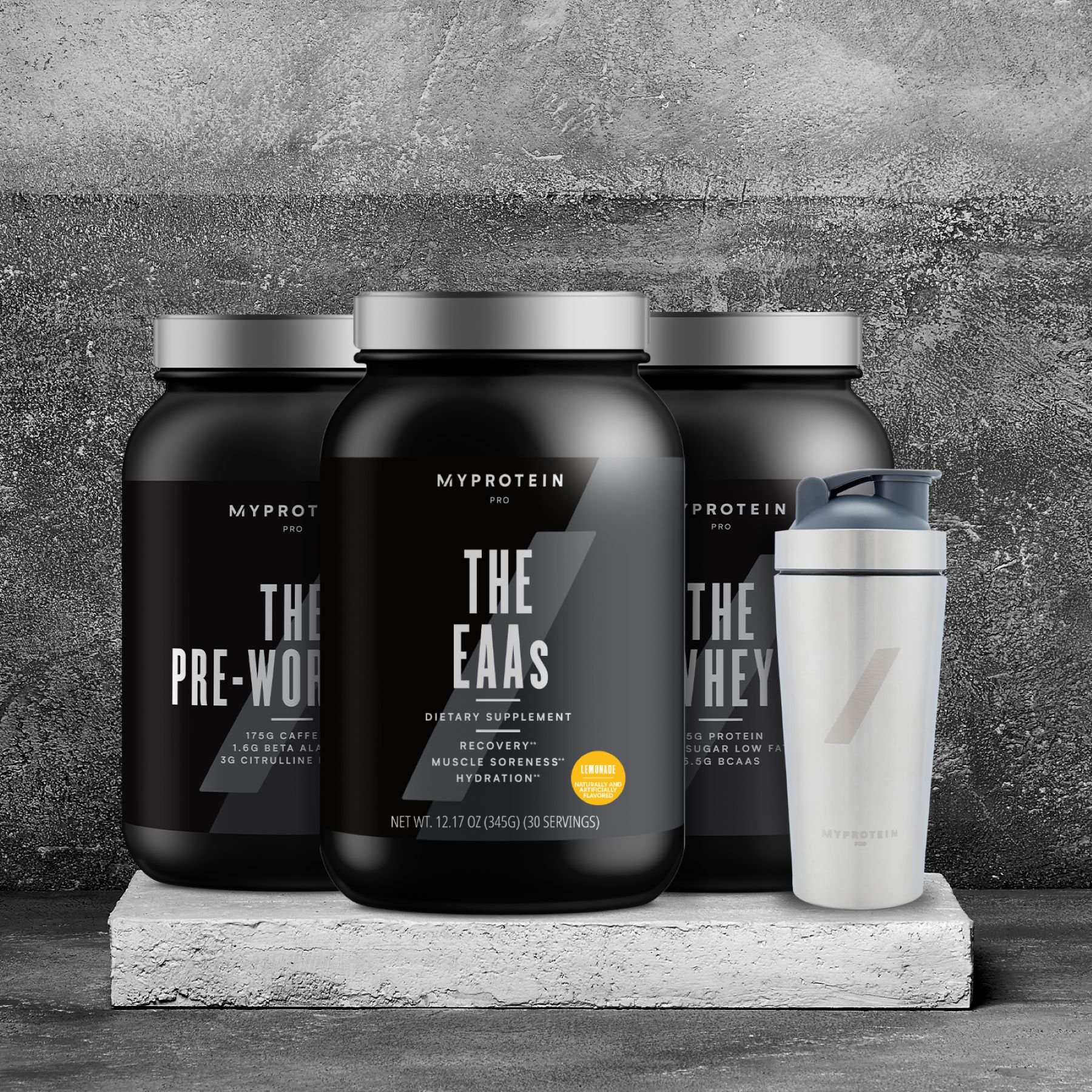 For Those Who Want Most | THE PRO Range Introduces THE EAAs & All New Pre-Workout Flavors