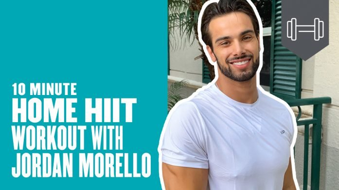 10 Minute Home HIIT Workout with Jordan Morello | 10 Exercises to Maximize Your At-Home Routine