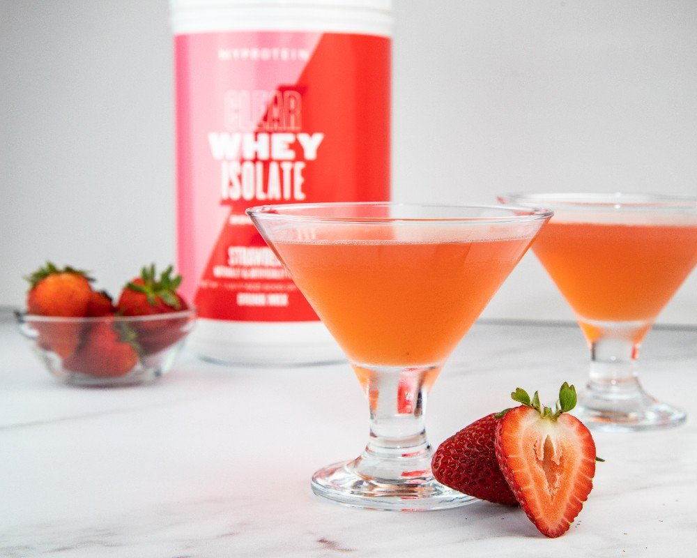 3 Clear Whey Isolate Mocktail Recipes | Healthy Non-Alcoholic Cocktails