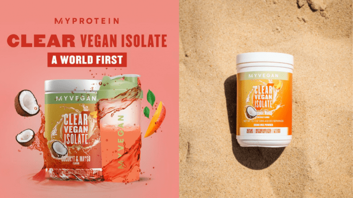 Clear Vegan Isolate is Back | Check Out a World's First in Vegan Protein Drinks