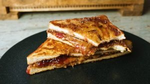 Peanut Butter & Jelly Protein French Toast