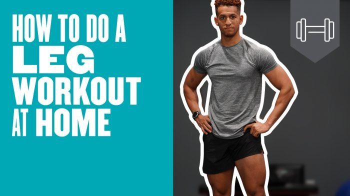 How To Do A Leg Workout At Home | Home Leg Workout
