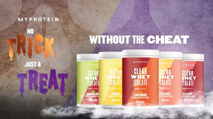 The Newest Flavor of Clear Whey Isolate is Scary Good for Halloween