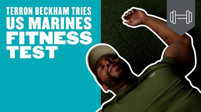 Watch: Bodybuilder Tries The US Marines Fitness Test