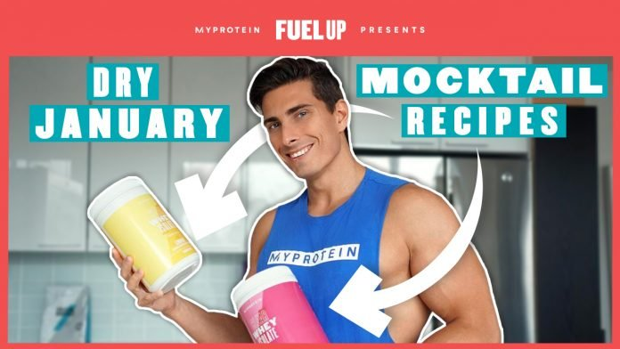 Dry January Mocktails | Healthy Protein Shake Recipes For The New Year