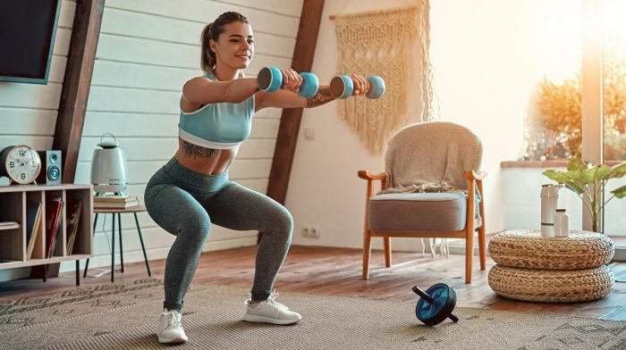 20-Minute Dumbbell Workout for Women