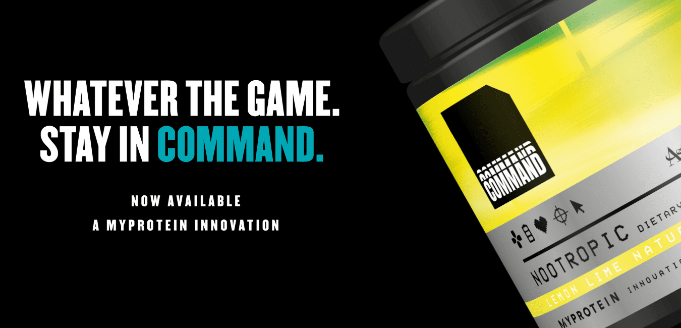 Whatever The Game, Stay In Command With Our All New E-Sports Energy Formula | Command