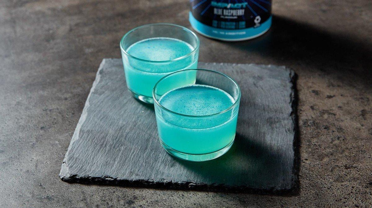 Blue Raspberry Clear Whey Isolate 2 Ways | Impact Week