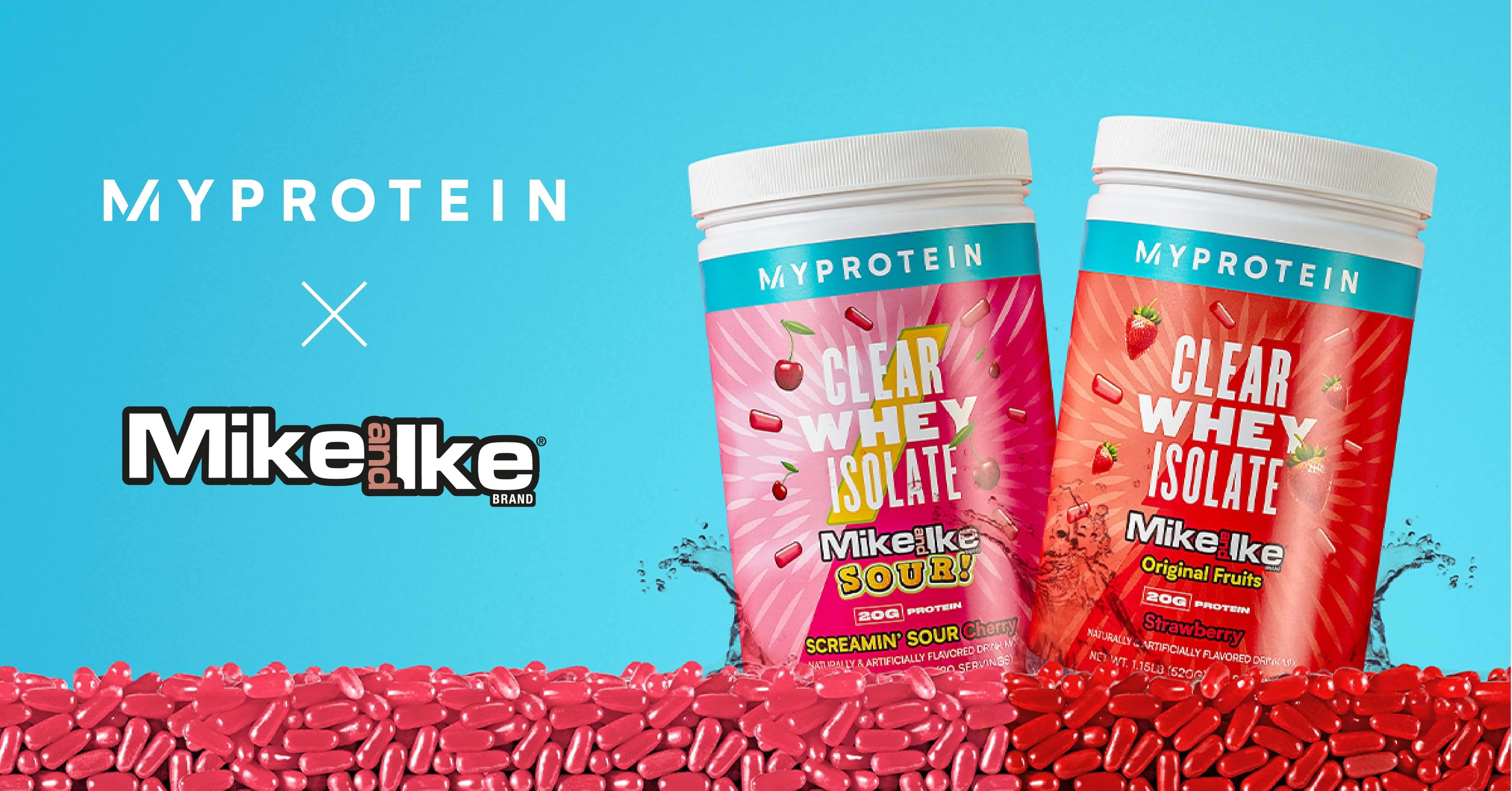 Protein Just Got Fruity With All New MIKE AND IKE® Flavors Of Clear Whey Isolate