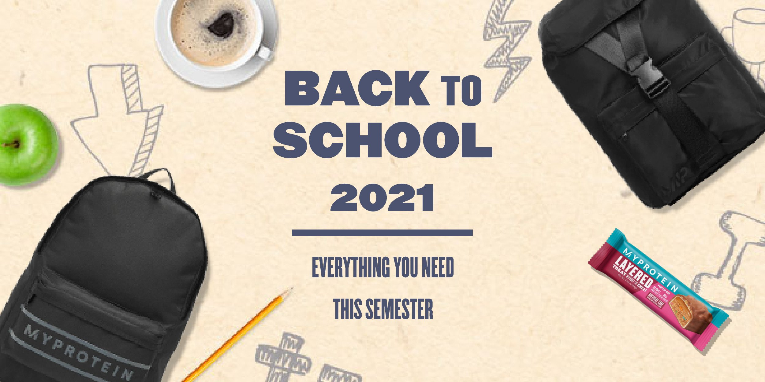 Our Ultimate Back To School Checklist | Shop This Semester's Guide To Nutrition & Apparel