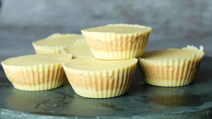 High-Protein White Chocolate Peanut Butter Cups