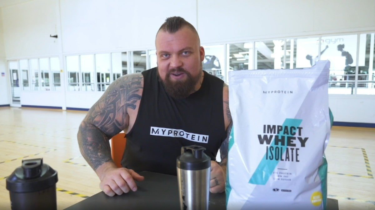 Eddie Hall Explains The Best Time To Take Protein