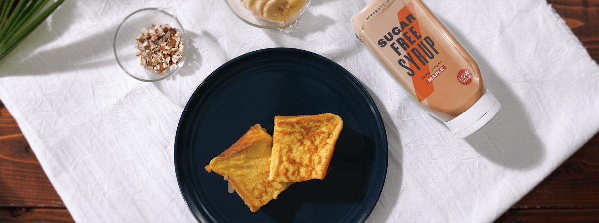 さくさくふんわりフレンチトースト 時短&低糖類