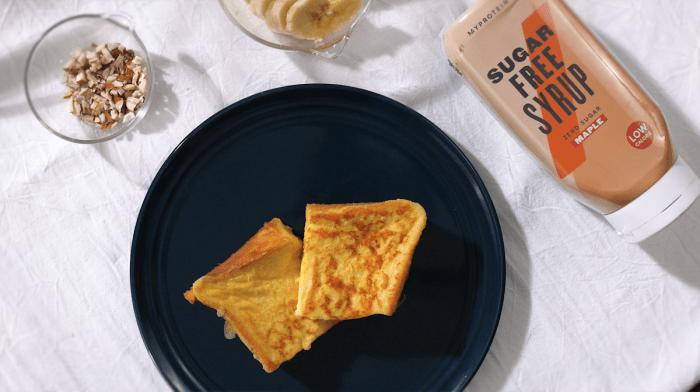 さくさくふんわりフレンチトースト|時短&低糖類