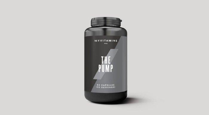 カフェインを含まない プレワークアウト THE Pump